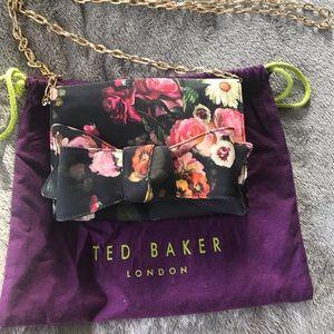 Ted Baker floral evening bag